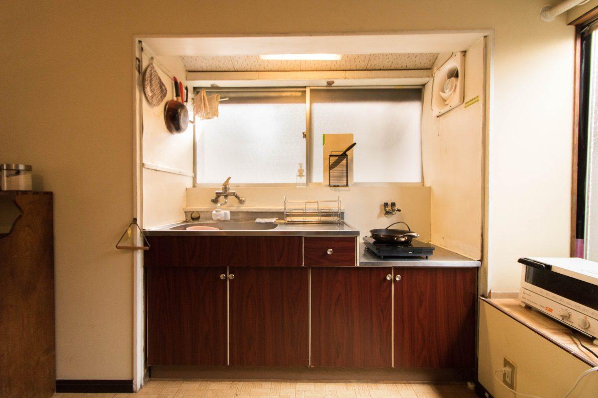 宿泊者専用キッチン