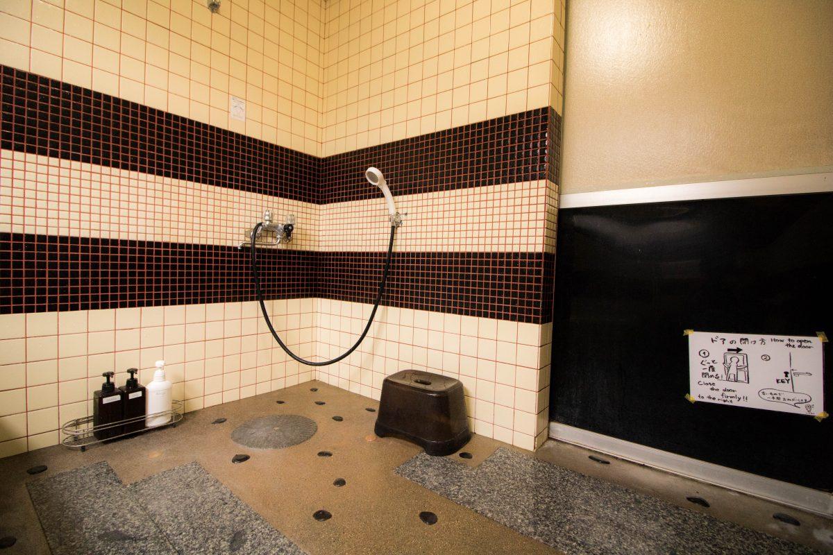 ゲストハウスいとあんのシャワールーム