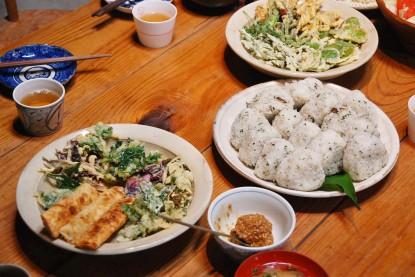 古志古民家塾の山菜教室